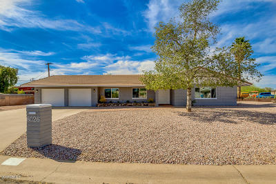 Phoenix Single Family Home For Sale: 8026 N 11th Place