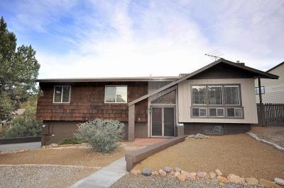 Prescott Single Family Home For Sale: 615 Pauley Drive