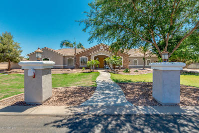 Gilbert Single Family Home For Sale: 2655 E Country Shadows Court