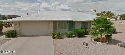 Sun City AZ Single Family Home For Sale: $174,900