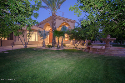 Paradise Valley Single Family Home For Sale: 7373 N 71st Place
