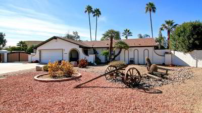 Scottsdale Single Family Home For Sale: 13826 N 57th Place N