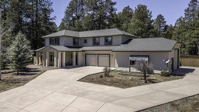 Flagstaff Single Family Home For Sale: 2535 W Kiltie Lane