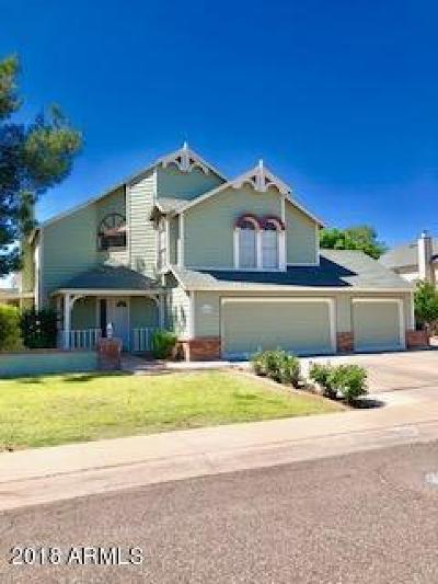 Scottsdale Single Family Home For Sale: 8025 E Krail Street