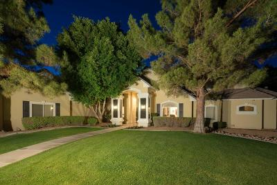 Mesa Single Family Home UCB (Under Contract-Backups): 3826 E June Circle