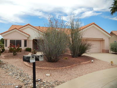 Sun City West Single Family Home For Sale: 14519 W Corral Drive