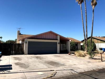 Phoenix Single Family Home For Sale: 2739 W Villa Rita Drive