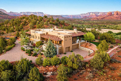 Sedona Single Family Home For Sale: 60 Stargazer Way