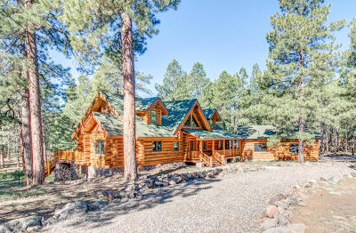 Flagstaff Single Family Home For Sale: 5275 W Kiltie Lane