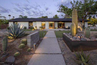 Paradise Valley Single Family Home For Sale: 5144 N 70th Place