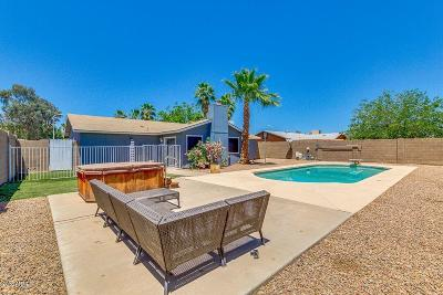 Chandler Single Family Home UCB (Under Contract-Backups): 1611 N Nebraska Street