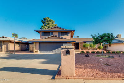 Phoenix Single Family Home For Sale: 3167 W Butler Drive