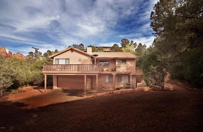 Sedona Single Family Home For Sale: 45 Canyon Drive