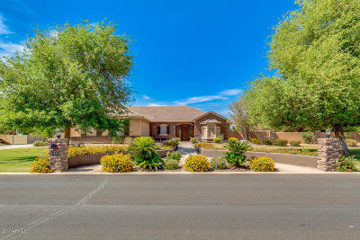 Apache Junction, Gilbert, Laveen, Maricopa, Mesa, Phoenix, Scottsdale, Tempe Single Family Home For Sale: 2698 E Lines Lane