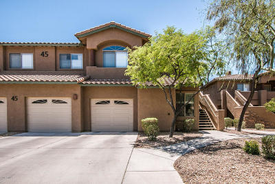 Scottsdale Condo/Townhouse For Sale: 11500 E Cochise Drive #1090