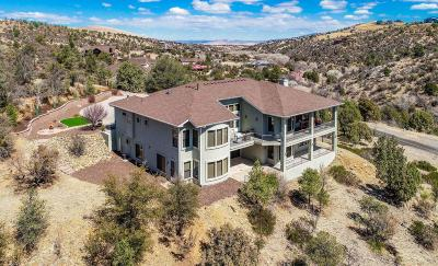 Prescott AZ Single Family Home For Sale: $874,900