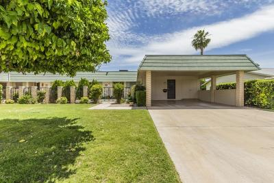 Sun City AZ Single Family Home For Sale: $215,000