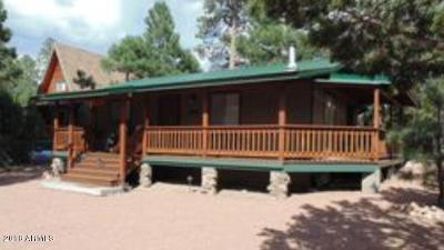 Overgaard Single Family Home For Sale: 3327 Rim Lakes Drive