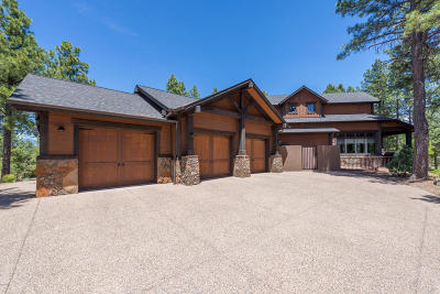 Payson, Pine, Pinedale, Pinetop, Lakeside, Show Low, Strawberry, Flagstaff, Munds Park, Prescott, Prescott Valley, Happy Jack, Sedona Single Family Home For Sale: 3460 S Clubhouse Circle