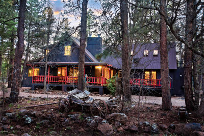 Pinetop Single Family Home For Sale: 2444 S Jan Lane