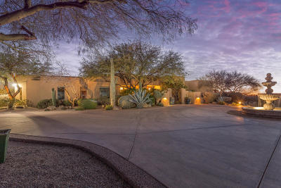 Scottsdale Single Family Home For Sale: 9341 E Vereda Solana Drive