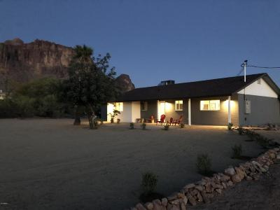 Apache Junction Single Family Home For Sale: 5785 E Singletree Street