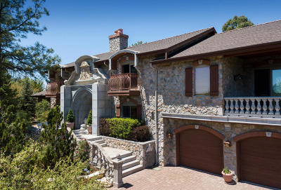 Prescott Single Family Home For Sale: 1588 Spruce Canyon Drive