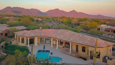 Grayhawk Single Family Home For Sale: 8008 E Whistling Wind Way