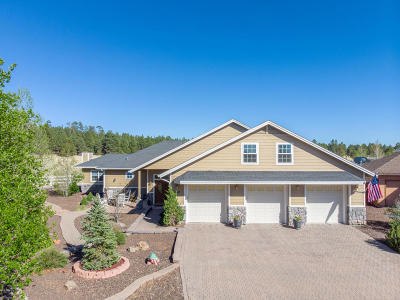 Flagstaff Single Family Home For Sale: 4510 Alpine Drive