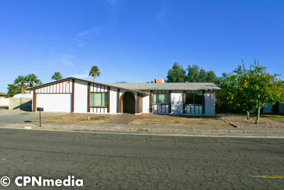 Glendale AZ Single Family Home For Sale: $312,850