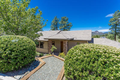 Prescott Single Family Home For Sale: 1320 E Valley View Road