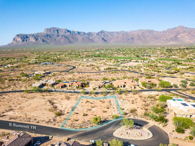 Gold Canyon Residential Lots & Land For Sale: 3921 S Summit Trail