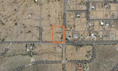 Casa Grande Residential Lots & Land For Sale: Arica Road