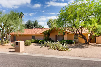 Paradise Valley Single Family Home For Sale: 6135 E Cochise Road