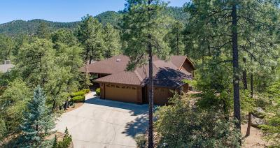 Prescott Single Family Home For Sale: 1987 Black Hawk Circle