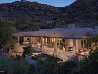 Paradise Valley Single Family Home For Sale: 5784 E Quartz Mountain Road