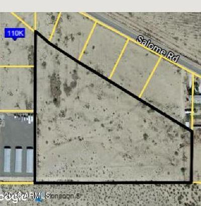 La Paz County Residential Lots & Land For Sale: 67102 Salome Road