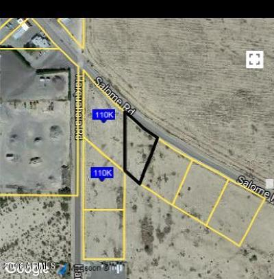 La Paz County Residential Lots & Land For Sale: 67193 Salome Road