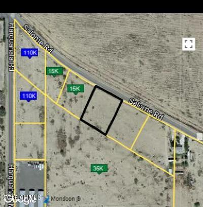 La Paz County Residential Lots & Land For Sale: 67189 Salome Road