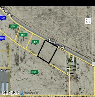 Salome Residential Lots & Land For Sale: 67187 Salome Road