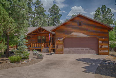 Show Low Single Family Home For Sale: 2900 W Lodgepole Lane