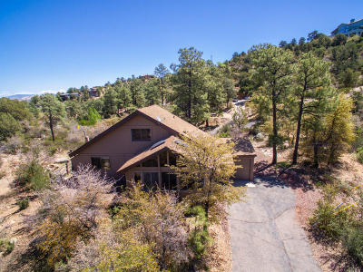 Prescott Single Family Home For Sale: 1253 W Coyote Run Trail