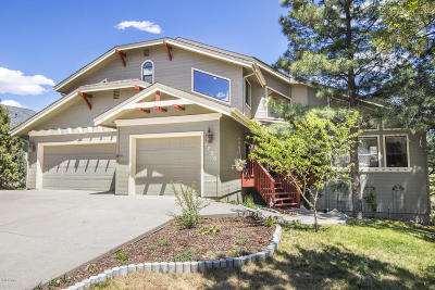 Flagstaff Single Family Home For Sale: 2720 N Sandstone Way