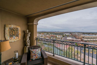 Scottsdale Waterfront, Scottsdale Waterfront Residences, Scottsdale Waterfront Residences Condominium Apartment For Sale: 7175 E Camelback Road #1005