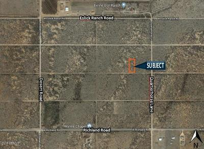 Cochise AZ Residential Lots & Land For Sale: $9,995