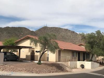 Phoenix  Condo/Townhouse For Sale: 10201 N 8th Avenue #1