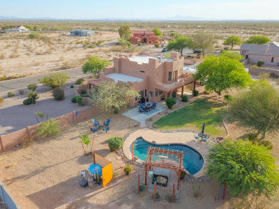 Casa Grande Single Family Home For Sale: 12628 W Sacaton Lane