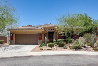 Phoenix Single Family Home For Sale: 3808 E Morning Dove Trail