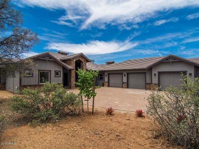 Prescott Single Family Home For Sale: 15350 N Elizabeth Way