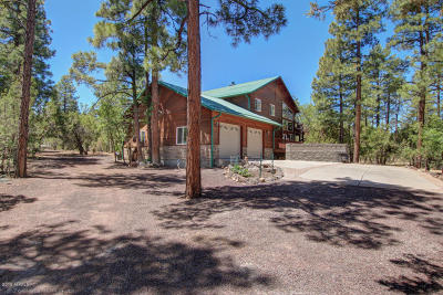 Show Low Single Family Home For Sale: 1260 S Alpine Drive